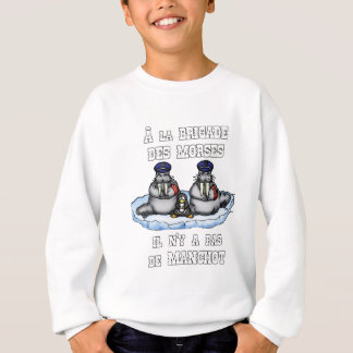 With the BRIGADE OF the MORSES there is no PENGUIN Sweatshirt