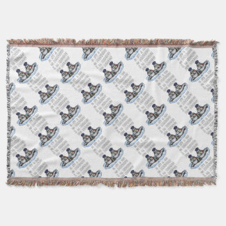 With the BRIGADE OF the MORSES there is no PENGUIN Throw Blanket