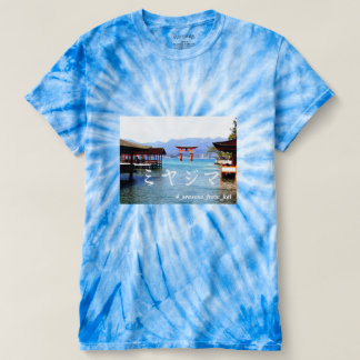 With the Japanese worldwide heritage Miyajima one* T-shirt