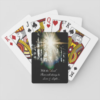 With the Lord.... Playing Cards
