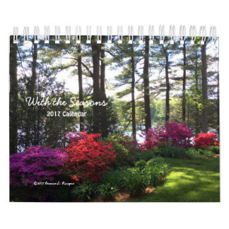 With the Seasons - 2017 Calendar ---