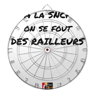 WITH the SNCF ONE SE FOUT OF the SCOFFERS - Word Dartboard