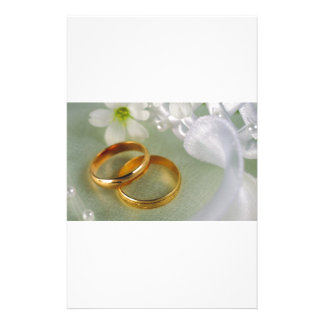 With This Ring I Take... Custom Stationery