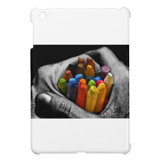 Within My Hands I Can Create, Express and Be Free. iPad Mini Covers