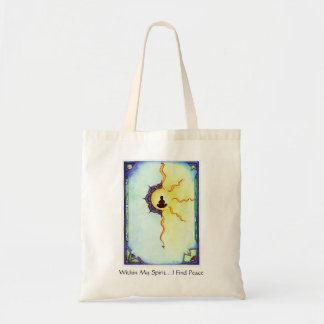 Within my Spirit....I Find Peace Tote Bag