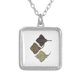 WITHIN THE SPECIES SILVER PLATED NECKLACE