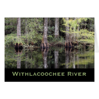 Withlacoochee River late Summer Card