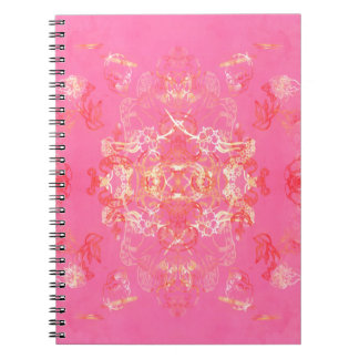Without 8 spiral notebook