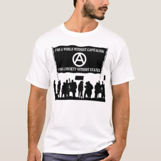 without capitalism t-shirt