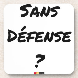 WITHOUT DEFENSE? - Word games - François City Coaster