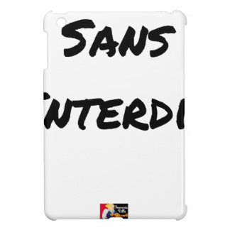 WITHOUT INTERDICT - Word games - François City Cover For The iPad Mini