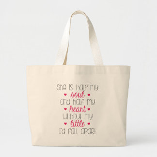 Without My Little Large Tote Bag