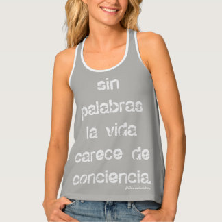 without words tank top