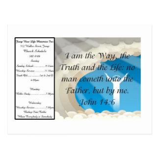 Witness Card 1 - Customized Postcard
