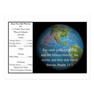 Witness Card 5 - Customized Postcard