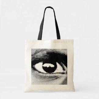 WITNESS eye#1 tote Budget Tote Bag
