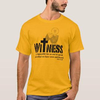 Witness Gold T-Shirt