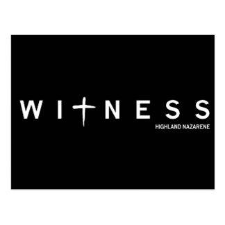 Witness Postcard