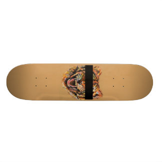 Witness Protection Tiger Skateboard Deck