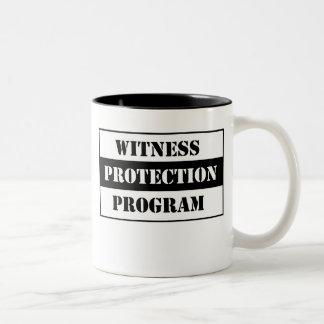 Witness Protection Two-Tone Coffee Mug