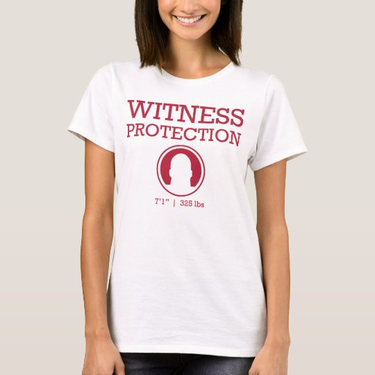 Witness Protection Wine T-Shirt