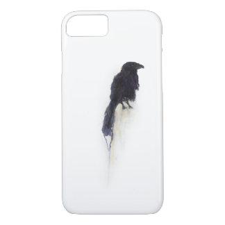 """Witness"" - Raven in Winter Snow iPhone 7 Case"