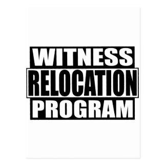 witness relocation program postcard