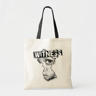 WITNESS tote Tote Bags