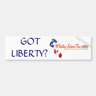 witp logo, GOT LIBERTY? Bumper Sticker
