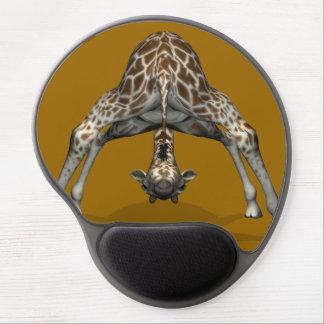 Witty Flexible Giraffe Gel Mouse Pad