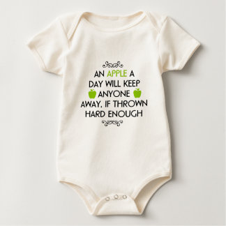 Witty quote baby bodysuit