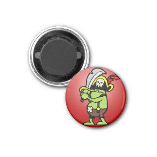Wizard101 Doodle Pirate Gobbler Magnet