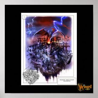 Wizard101 Dragonspyre Concept Poster