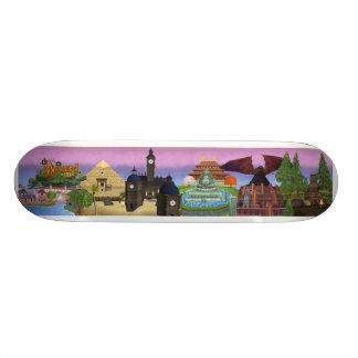 Wizard101 Worlds of the Spiral Skateboard