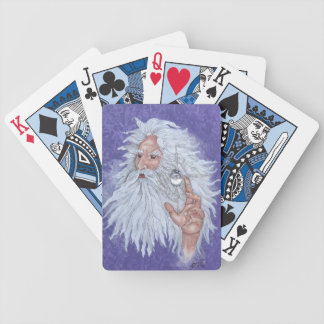 Wizard 02 bicycle playing cards
