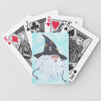 Wizard 04 bicycle playing cards