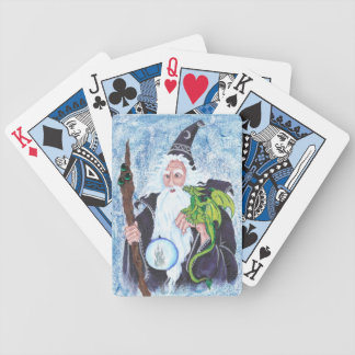 Wizard 05 bicycle playing cards