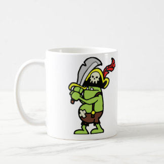 Wizard 101 Doodle Pirate Gobbler Coffee Mug