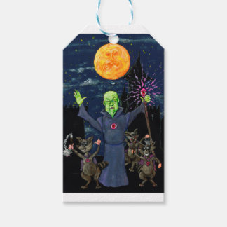 Wizard and Evil Raccoons Gift Tags