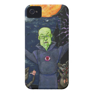 Wizard and Evil Raccoons iPhone 4 Case-Mate Case
