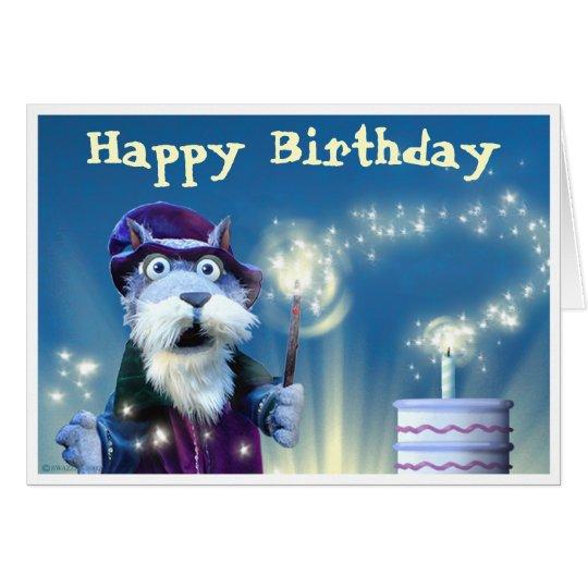 Wizard Birthday Card