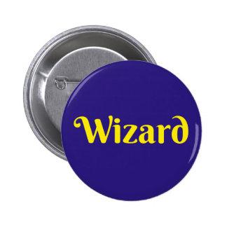 Wizard - Button Pin Badge