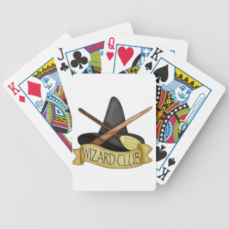 Wizard Club Bicycle Playing Cards