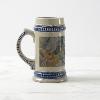 Wizard Confrontation Beer Stein