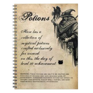 Wizard Drink Recipe Potion Book