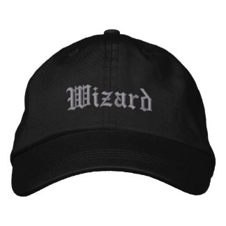 Wizard Embroidered Hat
