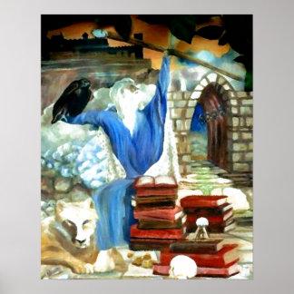 Wizard Fantasy Art Poster