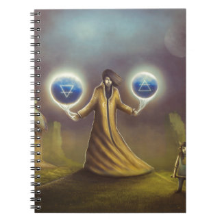 wizard fantasy magic notebooks
