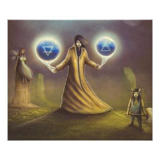 wizard fantasy magic photo print
