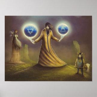 wizard fantasy magic poster